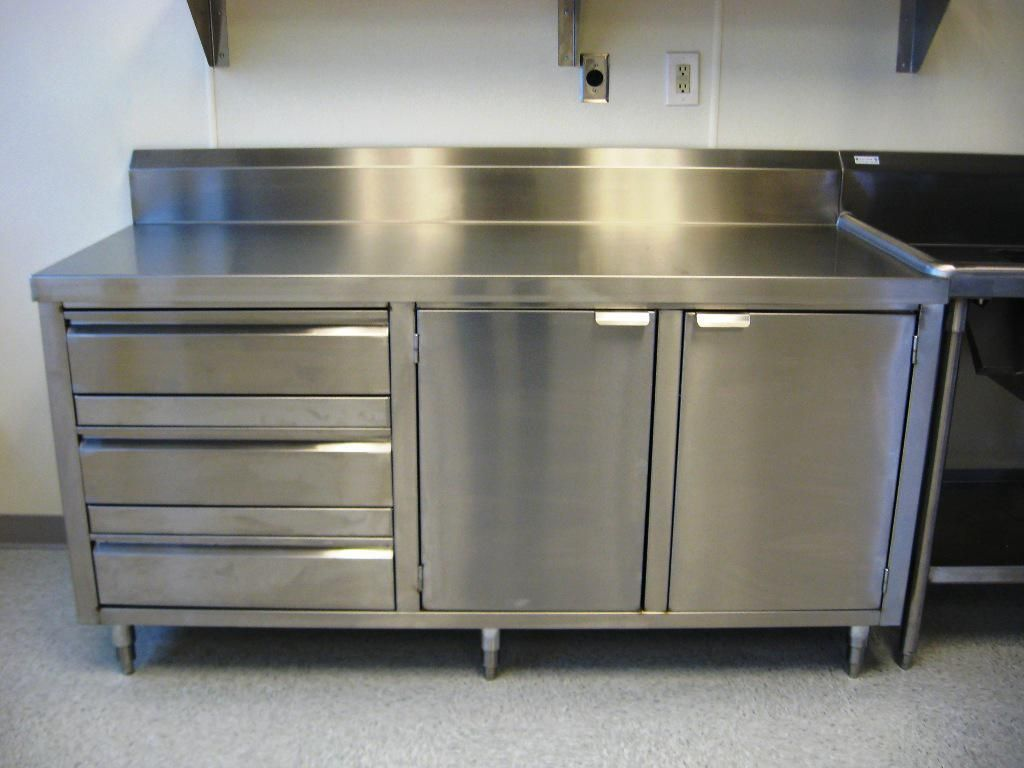 Base Cabinet With Hinged Doors