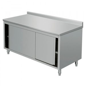 Base Cabinet With Sliding Doors