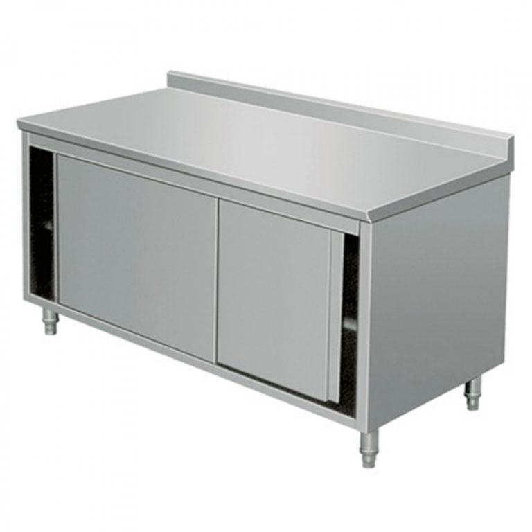 Base Cabinet With Sliding Doors