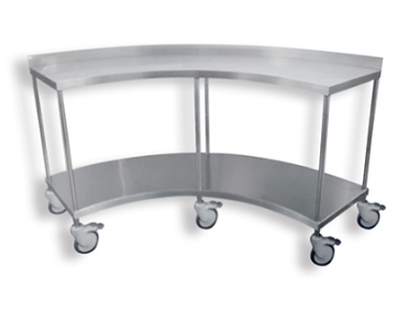 Curved trolley
