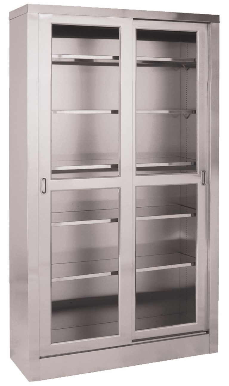 Upright Cabinet 2 Sliding Doors