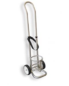 Cylinder transport trolley