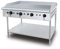 S/S GAS GRIDDLE