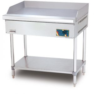 S/S ELECTRIC GRIDDLE WITH STAND