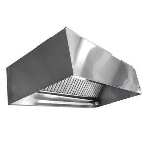 C/F S.S WALL MOUNTED HOOD ( BOX TYPE )