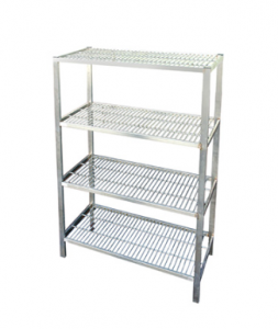 HEAVY DUTY WIRE SHELVING UNIT