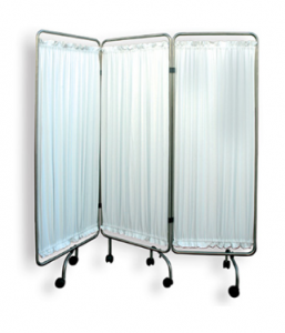 THREE FOLD WARD SCREEN