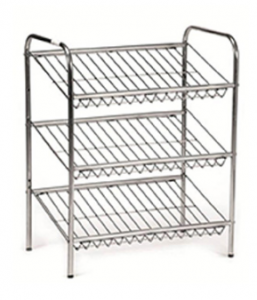 WIRE SHELF UNIT- 3 TIER