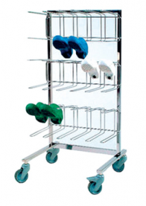 SHOE RACK ON WHEELS