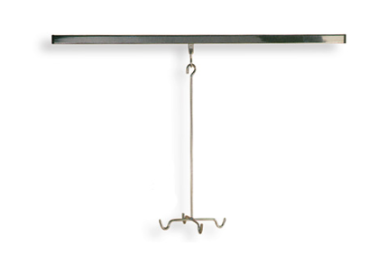 CEILING MOUNTED INFUSION STAND
