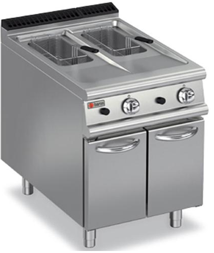 GAS DOUBLE WELL DEEP FAT FRYER