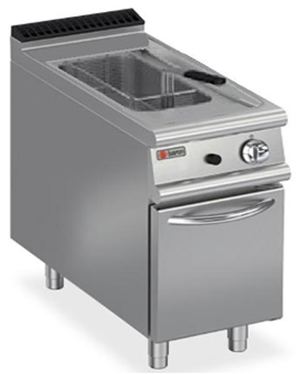 GAS SINGLE WELL DEEP FAT FRYER