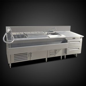 DELUXE MIXER BAR STATION